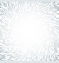 Twist gray pixel tunnel frame background vector