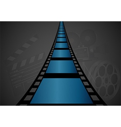Film strip design vector