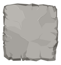 stone rock cartoon broken boulder vector image vector image