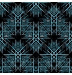 Abstract tribal Seamless Pattern Line vector