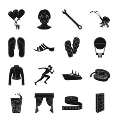 Atelier sports travel and other web icon in vector