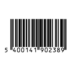Barcode vector image