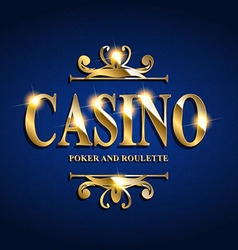 Casino Poster Background vector