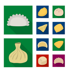 design of products and cooking symbol vector image