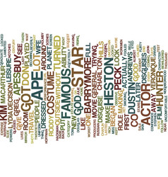 Masters of disguise text background word cloud vector