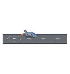 Objects 2d platformer game interface 8-bit vector
