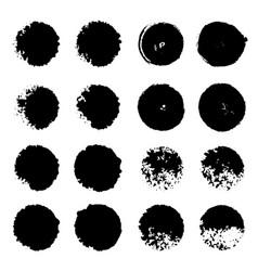 smear set vector image