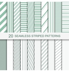 Stripped patterns vector