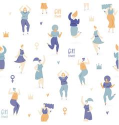 Woman dance vector