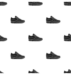 Sneakers icon in black style isolated on white vector image vector image