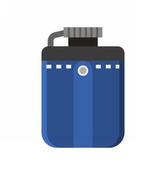 Tourist Flask Icon vector image