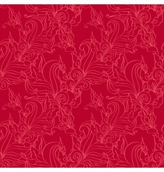 Seamless pattern Antique ornament vector image