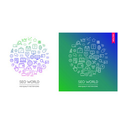 88 world shape icons vector