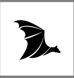 Bat logo template icon vector