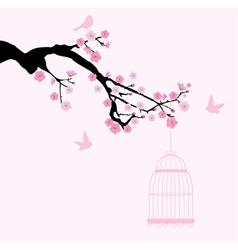 Cherry cage vector