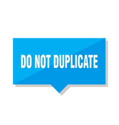 Do not duplicate price tag vector