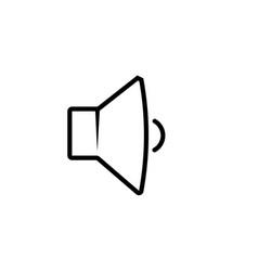 Low volume icon soundspeakervoice icons vector