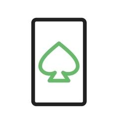 Spades Card vector image
