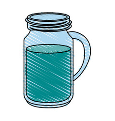 water jar vector image