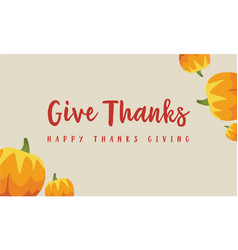 Card of thanksgiving theme collection vector
