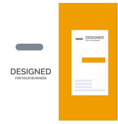 Delete less minus remove grey logo design and vector