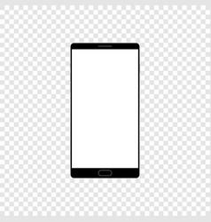high quality realistic smart phone mock up with vector image
