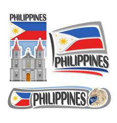 Logo philippines vector