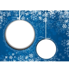 New Year and Christmas vector image