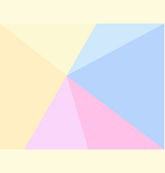 Triangle pastel background vector