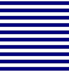 Seamless geometric horizontal striped pattern vector image vector image