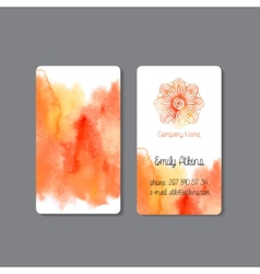 Business Card 2 vector image vector image