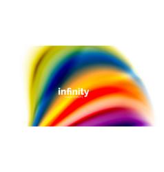 3d fluid colors wave background vector