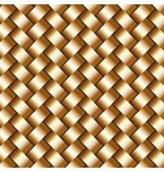 abstract metallic wickerwork pattern vector image