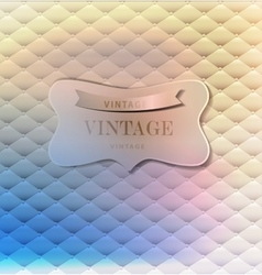 Abstract retro background for greeting card vector image