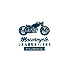 Badges Motorcycle Collections vector image