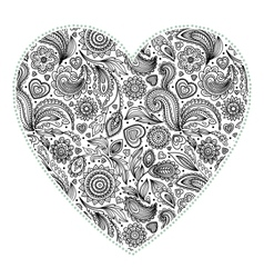 Beautiful Valentines day heart vector