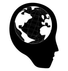 head world vector image