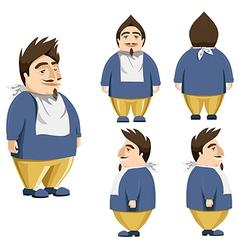 Personage vector image