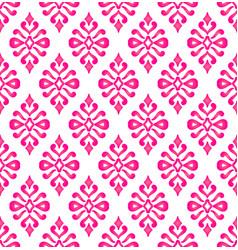 Pink seamless wallpaper vector
