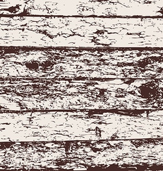 Wood fence grunge background brown and white pine vector image