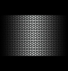 black white pattern vector image vector image