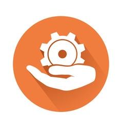 engineering symbol vector image