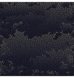 Blue Labyrinth Background Kids Maze vector image vector image