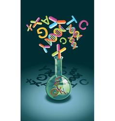 Genetic Engineering vector image vector image