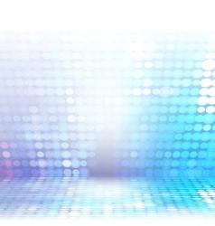 Blue technological background vector image