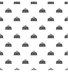 Casino building pattern vector