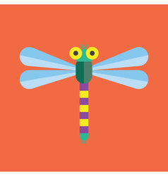 Dragonfly Icon Insect vector