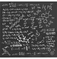 Formula Board vector image
