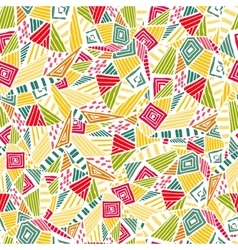 Geometric ethnic pattern design for background or vector image
