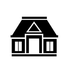Icon real estate commercial residential vector